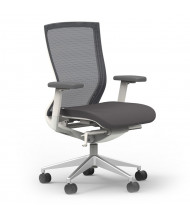 Cherryman idesk Oroblanco 402 Mesh-Back Fabric High-Back Task Chair (Shown in White)