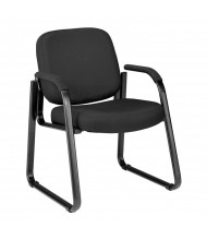 OFM 403 Fabric Mid-Back Guest Chair (in black)