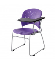 """Safco 4039 10"""" x 14"""" Tablet Arm Student Chair Desk, Left-Hand (Shown in Plum Purple)"""