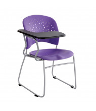 """Safco 4039 10"""" x 14"""" Tablet Arm Student Chair Desk, Right-Hand (Plum Purple)"""