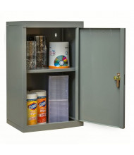 "Hallowell 400 Series 12"" D Wallmount Storage Cabinets (Shown in Dark Grey)"