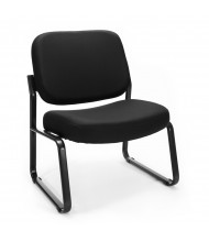 OFM 409 Big & Tall 400 lb. Fabric Guest Chair (in black)