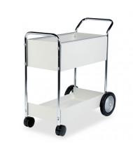 Fellowes 2-Basket Steel Mail Cart
