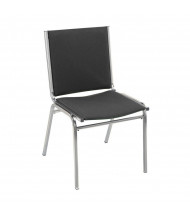 "KFI Seating 410 Fabric 1"" Padded Seat Stacking Chair (Shown in Black)"