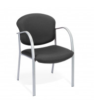 OFM Danbelle 414 Fabric Mid-Back Contract Guest Chair (in ebony black)