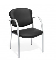 OFM Danbelle 414-VAM Anti-Microbial Vinyl Contract Guest Chair (black)