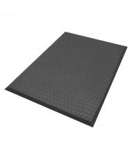 Cushion Max 414 Rubber Back Anti-Fatigue Floor Mats, Black