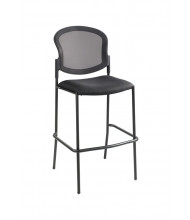 Safco Diaz 4198BL Mesh-Back Fabric Stacking Bistro Stool