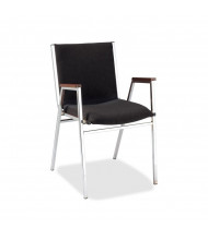 "KFI Seating 421 Vinyl 2"" Padded Seat Stacking Chair (Black)"