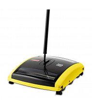 "Rubbermaid 44"" L Mechanical Sweeper, Black/Yellow"