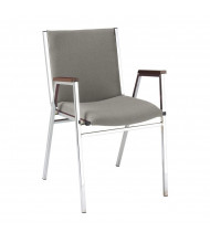 "KFI Seating 421 Fabric 2"" Padded Seat Stacking Chair (Shown in Grey)"