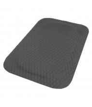 Hog Heaven 422 Rubber Back Industrial Anti-Fatigue Floor Mats, Black