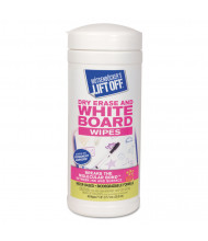 Motsenbocker Lift-Off Dry Erase Board Cleaner Wipes 30 Wipes/Can