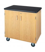 Diversified Woodcrafts Plastic Laminate Top Mobile Storage Cabinet
