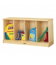 Jonti-Craft 4-Section Stacking Open School Locker