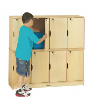 Jonti-Craft 8-Section Lockable School Locker