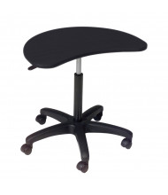 Balt Pop Adjustable Height Mobile Laptop Table Stand (Shown in Black)