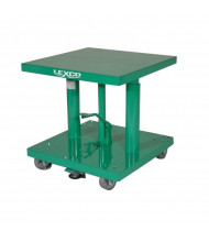 "Lexco 300 lb Load 18"" x 18"" Manual Hydraulic Lift Tables"