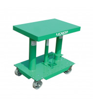 "Lexco 400 lb Load 18"" x 24"" Manual Hydraulic Lift Tables"