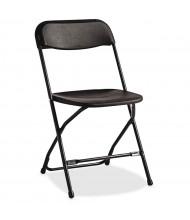 Samsonite 2200 Series Steel Folding Chair, Pack of 10 (Shown in Black)