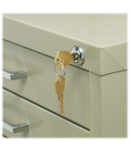 Safco Lock Kit for 5-Drawer Flat File Cabinets