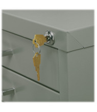 Safco Lock Kit for 10-Drawer Flat File Cabinets