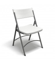 Mayline Event 5000FC 4-Pack Heavy-Duty Plastic Folding Chair