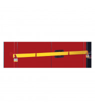 Just-Rite 50962Y Replacement Security Bar for High Security 45 Gallon Safety Cabinet, Yellow (example of use)