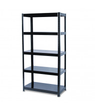 "Safco 5245BL 18"" D x 36"" W x 72"" H 5-Shelf Boltless Shelving Unit"