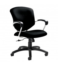 Global Supra 5331-4 Fabric Mid-Back Office Chair (Shown in Black)