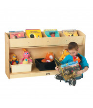 Jonti-Craft Flushback Book Browser Stand (example of use)