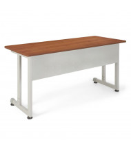 "OFM 55142 55"" W x 24"" D Modular Training Table (Shown in Cherry)"