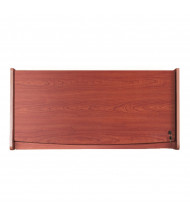 """OFM RiZe 48"""" W Hanging Hutch with Lock (Shown in Cherry)"""