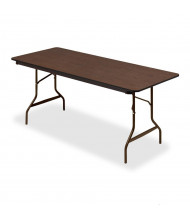 "Iceberg 30"" x 72"" Economy Wood Laminate Folding Table"