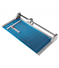 "Dahle 554 28-1/4"" Cut Professional Rolling Paper Trimmer"