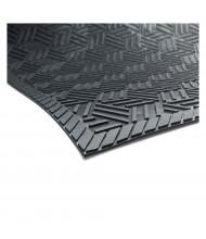 SuperScrape Plus 5559 Rubber Back Indoor/Outdoor Scraper Floor Mats, Black