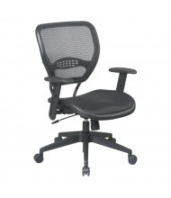 Office Star Black AirGrid Seat and Back Deluxe Task Chair (Model 5560)