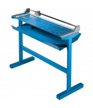 """Dahle 556S 37-3/4"""" Cut Professional LF Rolling Paper Trimmer with Stand"""