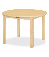 "Jonti-Craft 30"" D Round Multi-Purpose Table (Shown in Maple)"