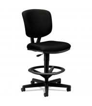 HON Volt 5705 Fabric Task Stool, Footring (Shown in Black)