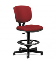 HON Volt 5705 Fabric Task Stool, Footring, Red