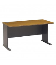 "Bush Series A WC57460 60"" W Straight Front Office Desk"