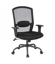 Office Star Mesh-Back Fabric Mid-Back Managers Chair
