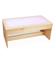 "Jonti-Craft 42"" W x 22"" D Large Multicolored Light Table"