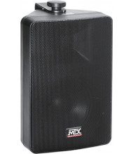 "MTX Audio AW82-B 2-Way All Weather Speaker with 8"" Woofer, Black"