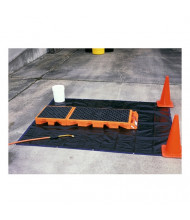 "Ultratech 6020 Non-Ambulatory 82"" W x 27"" L Decon Deck, 99 Gallons"