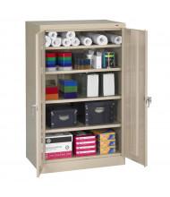 """Tennsco 36"""" W x 24"""" D x 60"""" H Standard Storage Cabinets (Shown in Sand)"""