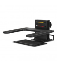 "Kensington 3"" to 7"" H Adjustable Laptop Stand, Black"