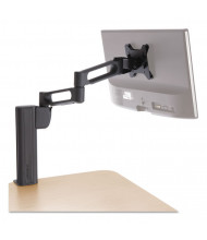 """Kensington SmartFit Extended Column Monitor Arm Mount For Monitors 15"""" to 24"""", up to 20 lbs., Grey"""