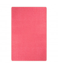 Joy Carpets Just Kidding Solid Color Classroom Rug, Hot Pink